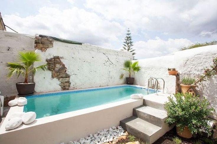 Minimalist Pool Ideas For Your Own Sanctuary Piscinas Para Jardins Pequenos Piscina Acima Do Solo Piscina Rustica