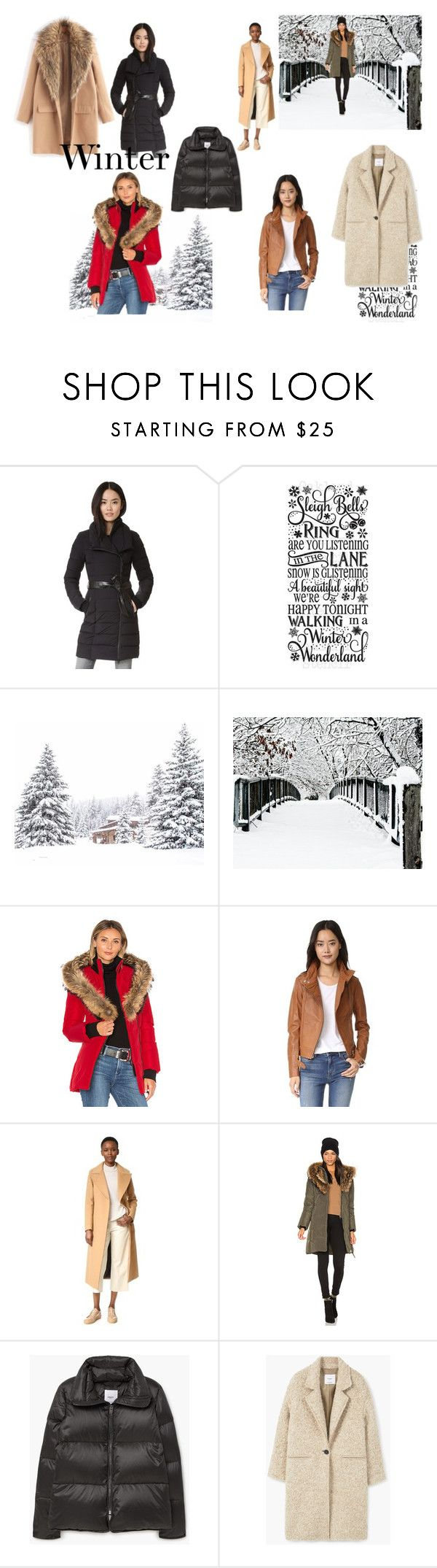 """Winter"" by aseval ❤ liked on Polyvore featuring Mackage, MANGO, trend, women and pvstyleinsider"