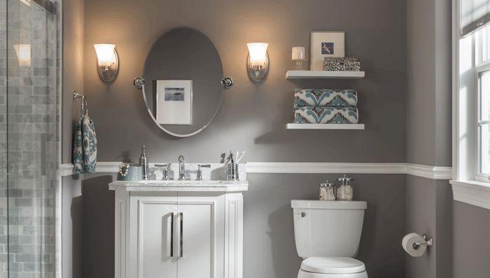 Lowes Bathroom Remodel Ideas Small Bathroom Colors Gray Bathroom Decor Bathroom Colors