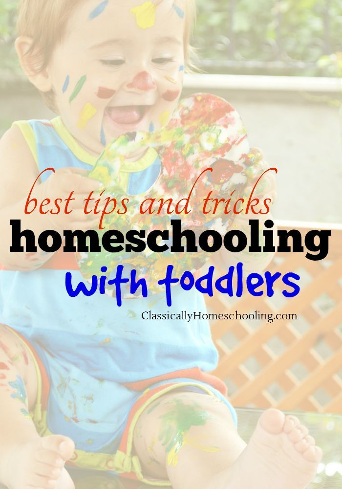 Best tips and tricks for homeschooling with toddlers! Busy bags, play dough recipes, sensory bins, fine motor activities, and more from Classically Homeschooling