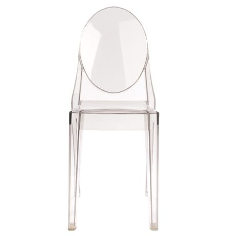 chaise victoria ghost starck philippe stark victoria. Black Bedroom Furniture Sets. Home Design Ideas