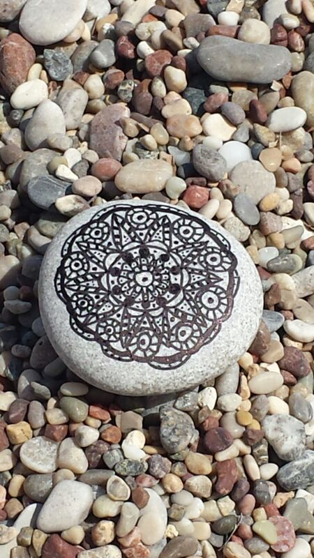 one from my first drawing on the rocks