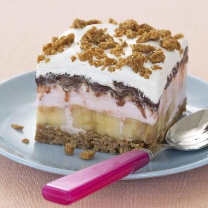 Banana Split Ice Cream Cake | Desserts | Pinterest
