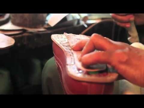 Santalum Video - Handmade goodyear welted construction