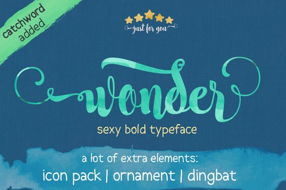 Check out Wonder + Updated by JROH Creative on Creative Market
