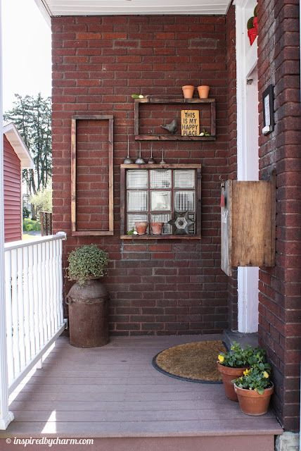 Best 25 patio wall ideas on pinterest patio privacy for Outdoor foyer ideas
