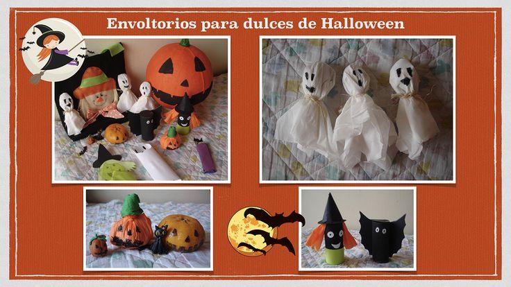 Envoltorios divertidos para los dulces en Halloween. Halloween Fun Packs