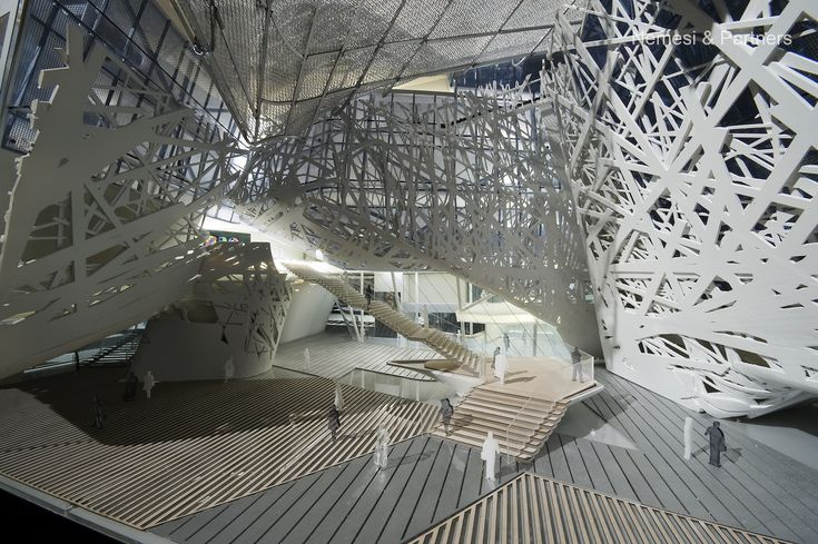 The future italy pavilion by nemesi partners srl for Decor italy srl