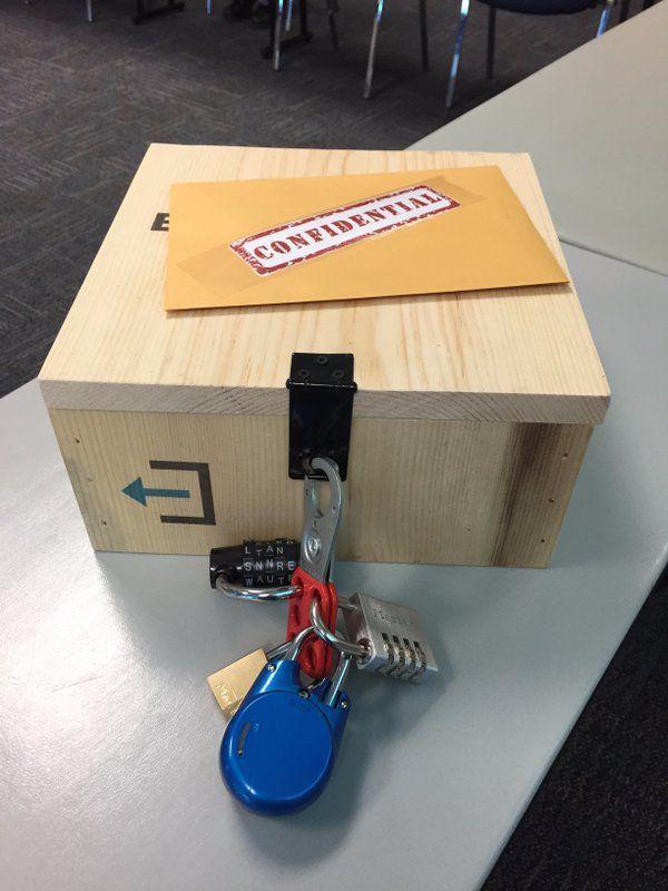 124 best breakout edu images on pinterest breakout boxes for Diy escape room