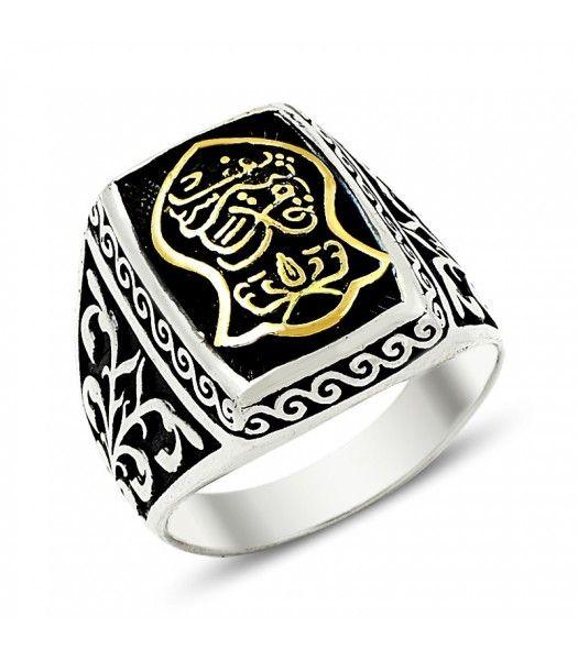 Gümüş Nalı Şerif Erkek Yüzüğü EY567