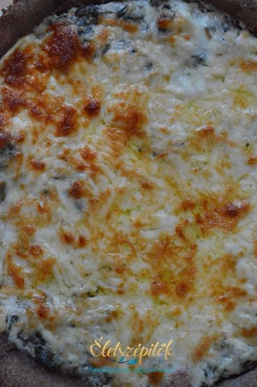 Francia pizza: spenótos quiche rozslisztes pitetésztával | Életszépítők