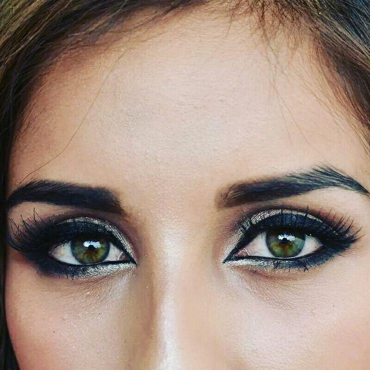 Maquillaje de ojos #makeup #makeuptutorial #maquillajedenoche