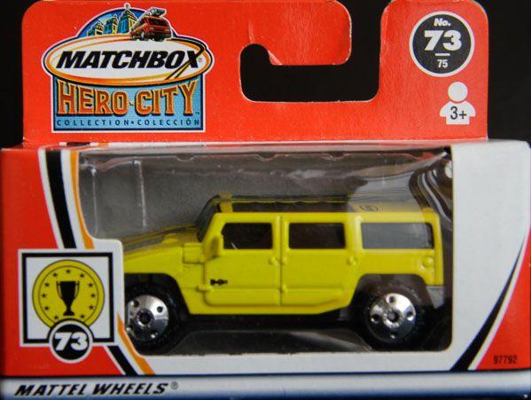 Model Matchbox Hummer H2 SUV Concept
