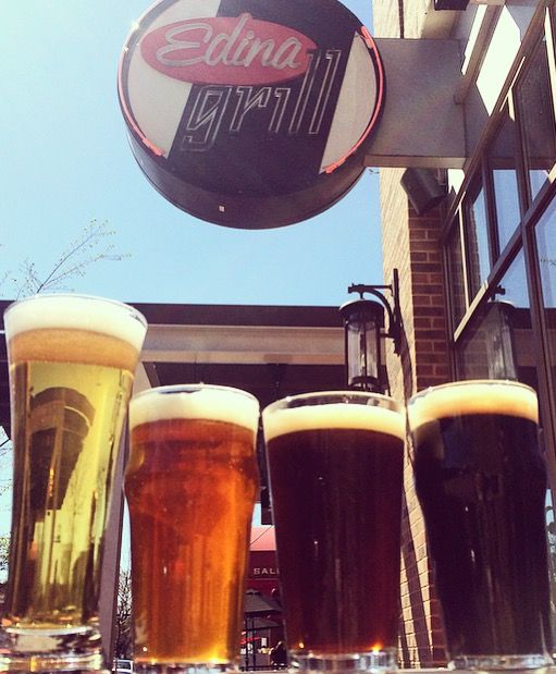 We will debut the Edina Grill Craft Beer Garden featuring The Freehouse beers at the Edina Art Fair June 5-7!   The beers:  No. 1 KÖLSCH-STYLE ALE    No. 2 INDIA PALE ALE    No. 3 BROWN ALE  No. 4 {Irish-style Dry} STOUT    Plus 2 surprise beers!