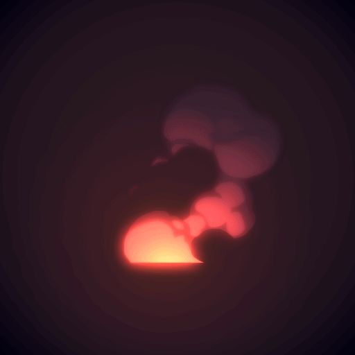 Smoke Loop animation by AlexRedfish