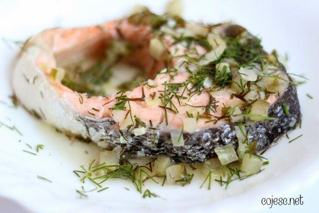Pyszny sposób na łososia   Zdrowe Przepisy Pauliny Styś