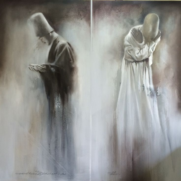 My painting dance dervishes