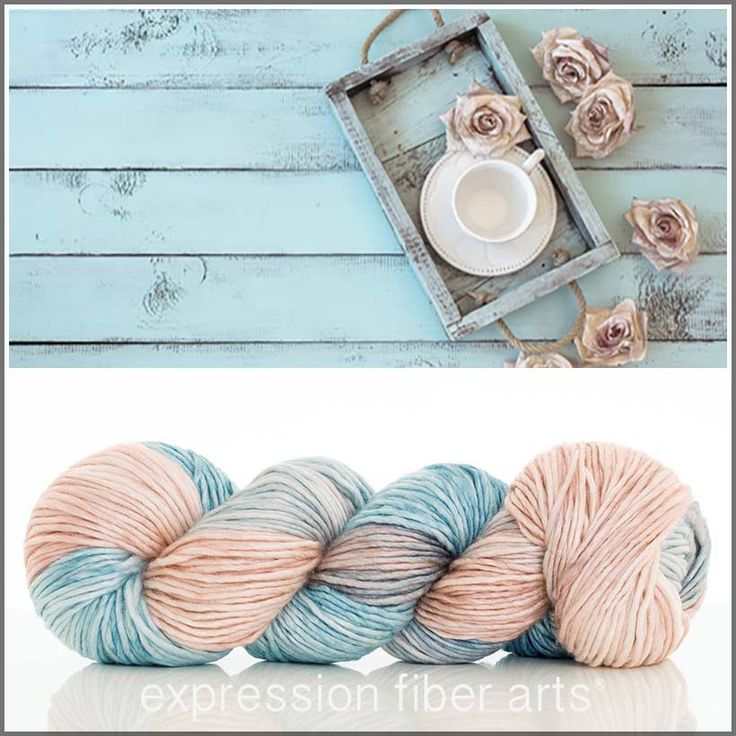 Shabby Chic - worsted weight yarn for $30 - Pearlescent superwash merino blended with lustrous silk! Such a dream to work with.