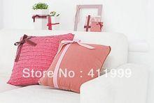Designer de tela Lazer Silk impressão de transferência de calor bordado 100% algodão Sofá Almofada / Travesseiro(China (Mainland))
