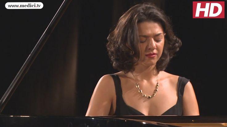 Khatia Buniatishvili  - Liszt / Schubert Ständchen - Verbier Festival