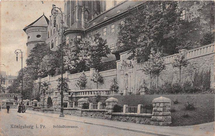 Königsberg, Ostpreussen, Schloßterrasse, 1915