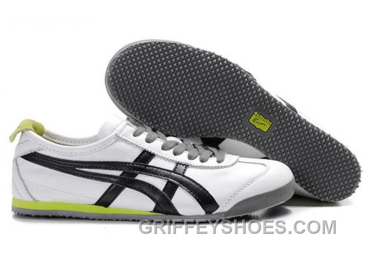 onitsuka tiger white black green
