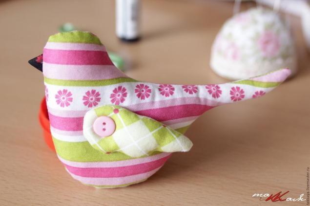 Птичка в стиле Тильда - Ярмарка Мастеров - ручная работа, handmade