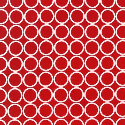Red circles