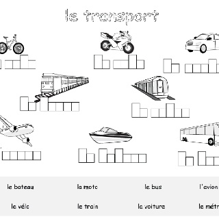 9 best Les transports images on Pinterest | Fle, Teaching french and ...