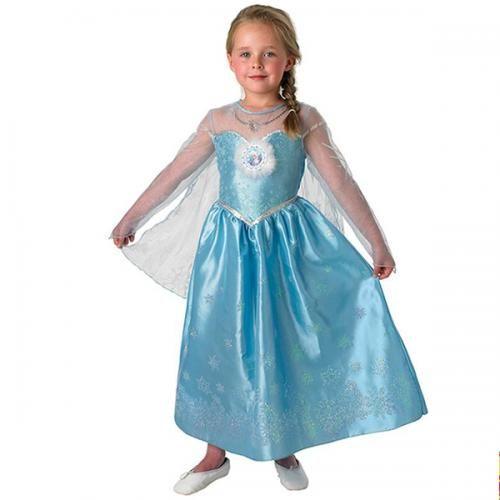 Frozen jurk Elsa deluxe kind