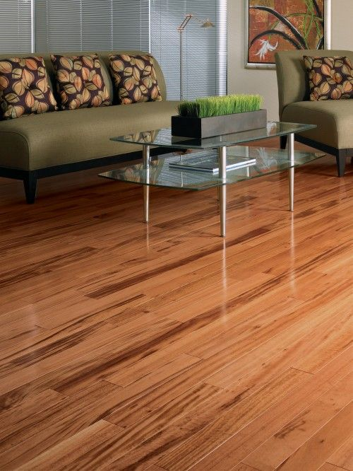 Exotic Tigerwood is just that...Exotic. | Hardwood Floors | Pinterest