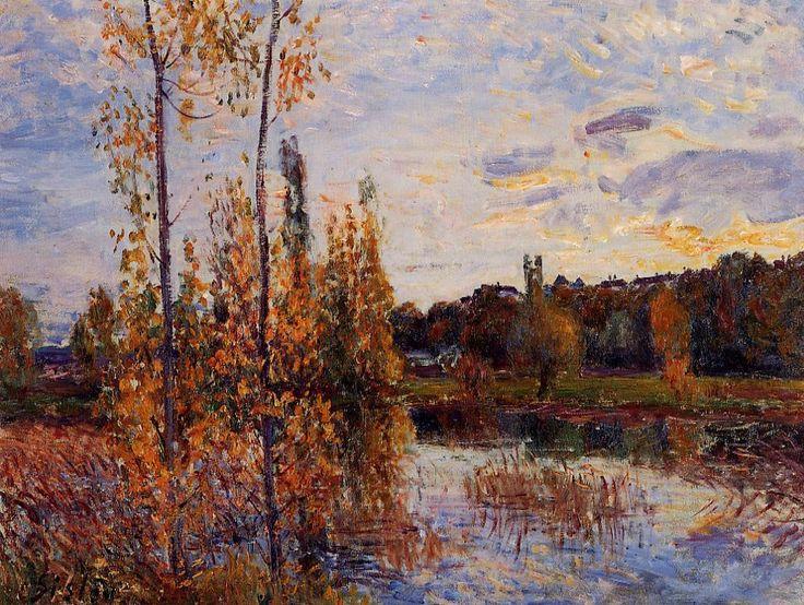 Landschaftsmalerei impressionismus  219 besten ALFRED SISLEY. Bilder auf Pinterest | Frankreich ...