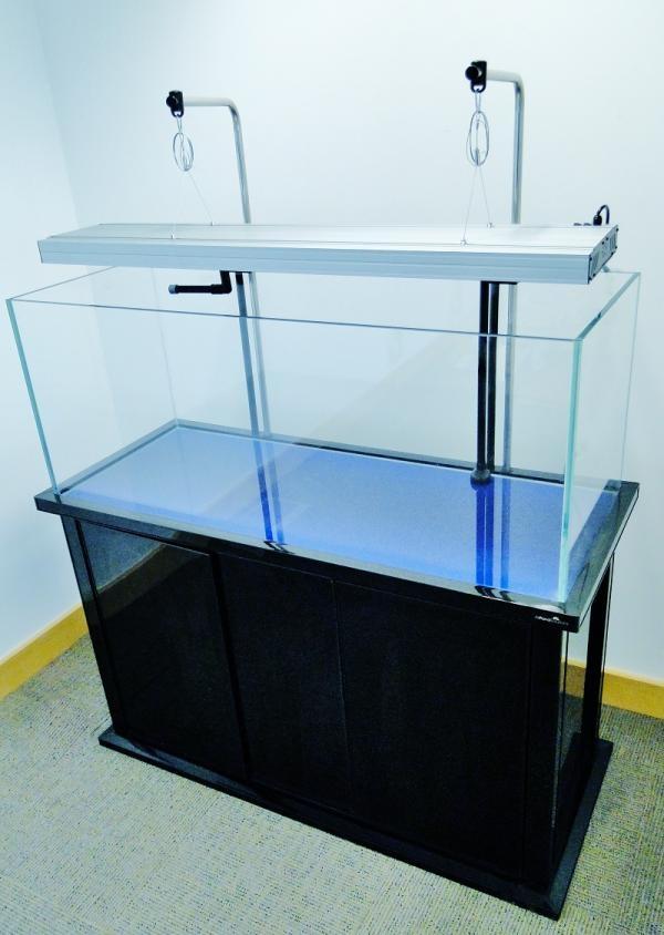 High Quality 120cm 4ft 90L Open Top Aquarium Cabinet Fish Tank Tropical/ Marine + T5  Lighting