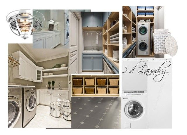 2 Laundry ZR by naala-art on Polyvore featuring polyvore, interior, interiors, interior design, home, home decor, interior decorating and Zara Home