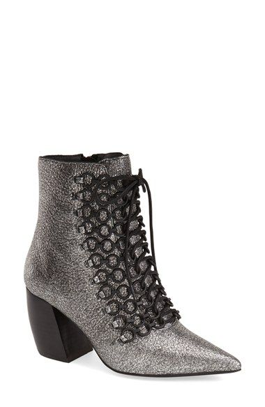 Jeffrey Campbell 'Cercle' Ankle Tie Bootie (Women) available at #Nordstrom