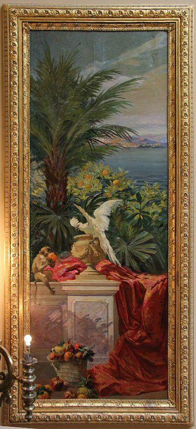 panel, artist unknown