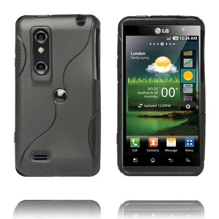 Storm (Sort) LG Optimus 3D Cover