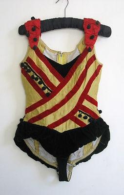 VINTAGE Trapeze / circus / burlesque / ballet / costume / fancy dress size 10 | eBay  embellishment