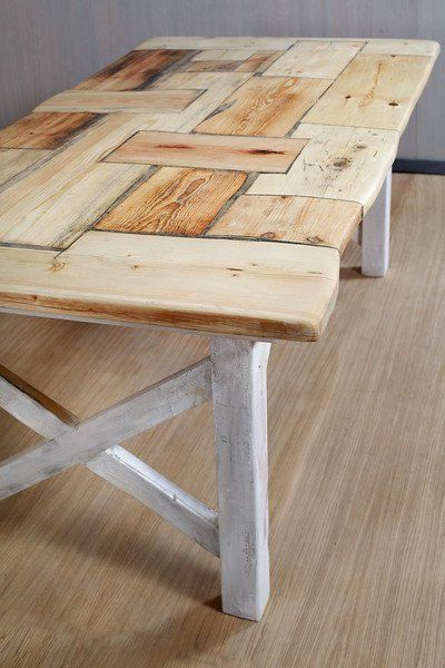 Country-style lumber table Liv 200 x 90 cm by FraaiBerlin