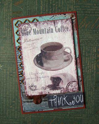 Территория Рыжей Кошки: Открытка для любителя кофе