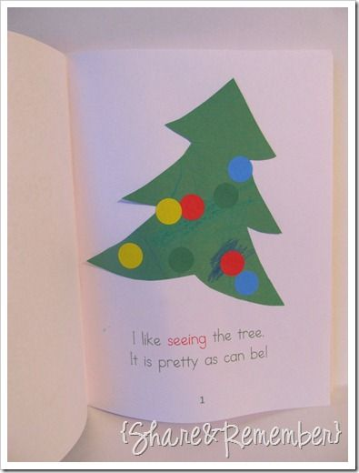My Five Senses of Christmas Booklet|Printable