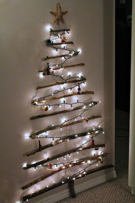 Branch Christmas Tree by Turtles and Tails ~ Party Feature at House on the Way