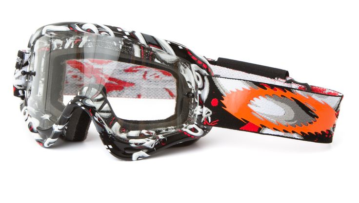 Oakley Kids Crossbrille XS O Frame TLD Medusa/Clear - Troy Lee Signature Series 2014