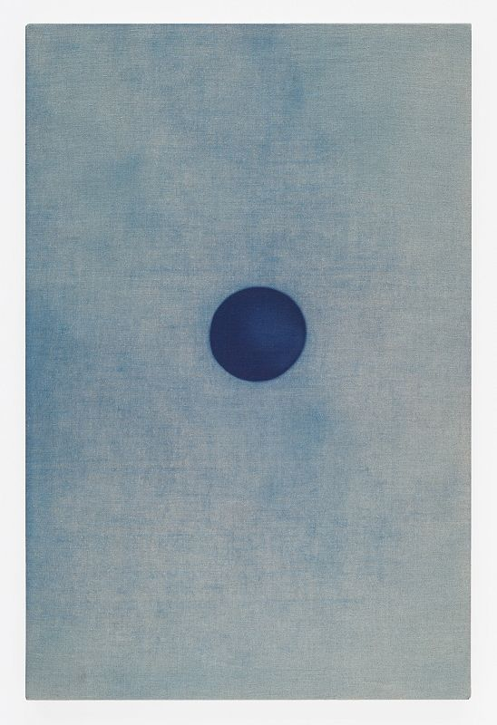 John Opera 2015 cyanotype on stretched linen SunSky