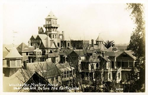 California's Most Famous Haunted House… Winchester Mystery House