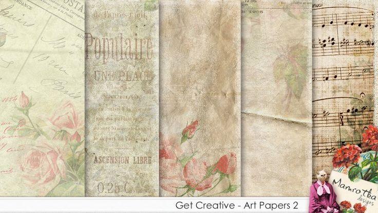 Get Creative - Art Papers 2