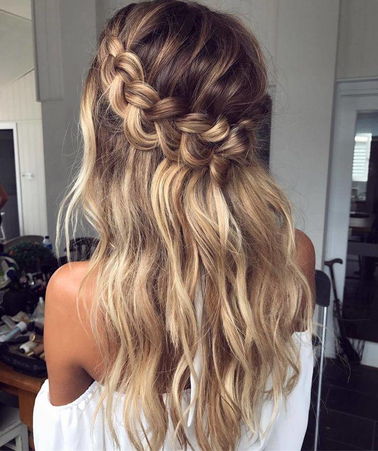 Best 20+ Braided waves ideas on Pinterest   Bridesmaid ...