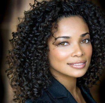 Rochelle Aytes' curly set #naturalhairrocks # ...