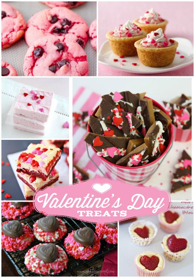 20 Valentine's Day treats to make for those special people you love and care for! Design Dazzle