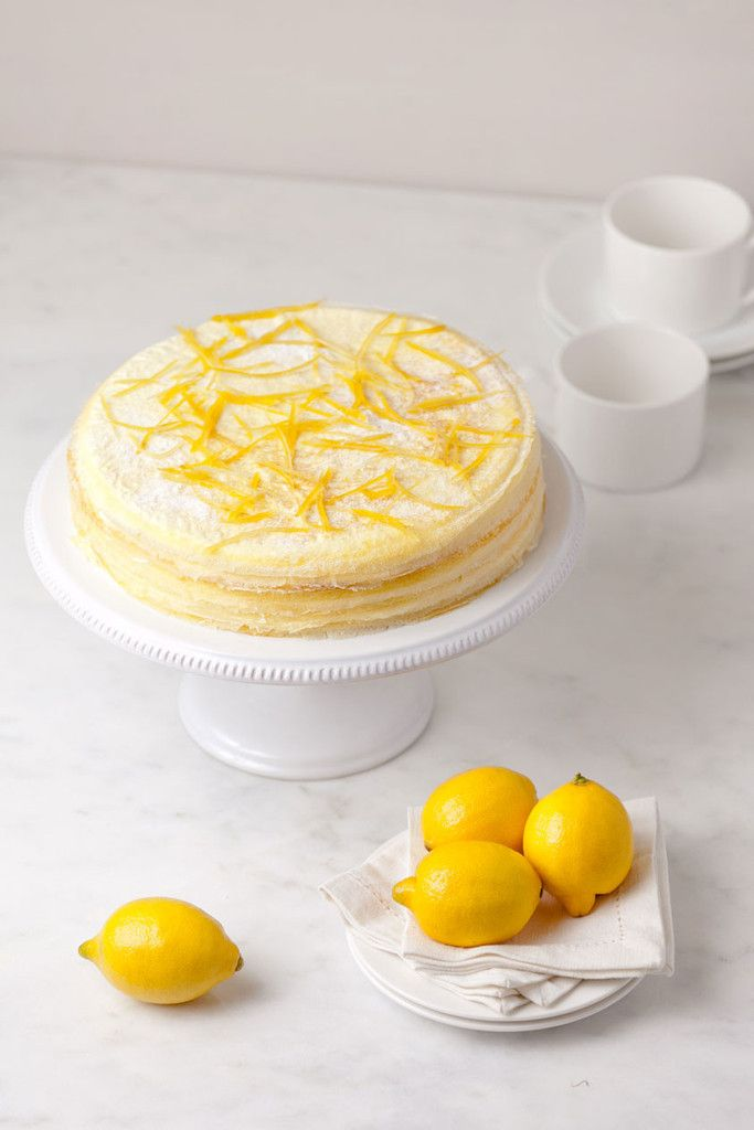 Citron Mille Crepes